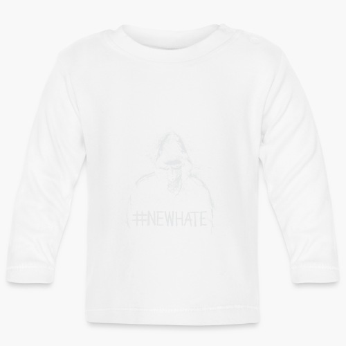 #NewHate Male - Langarmet baby-T-skjorte
