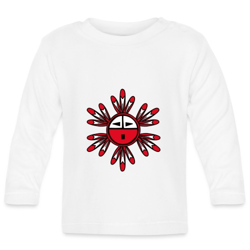 Hopi Kachina Sun Symbol - Baby Long Sleeve T-Shirt