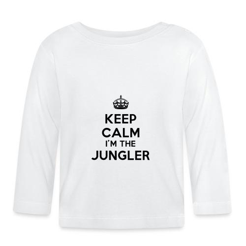 Keep calm I'm the Jungler - T-shirt manches longues Bébé