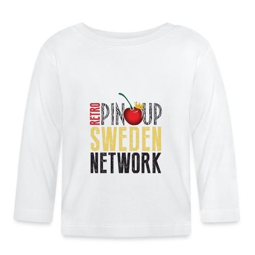Tanktop Retro Pinup Sweden Crew utsvängd - Långärmad T-shirt baby