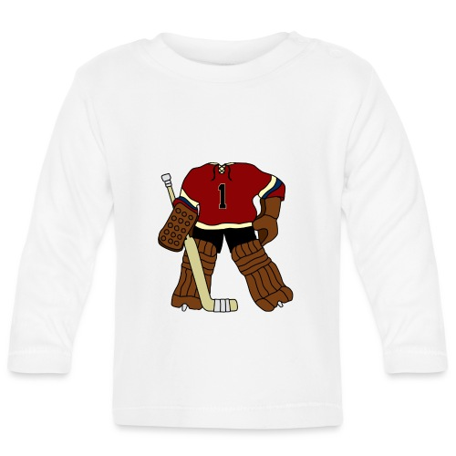 Vintage Ice Hockey Goalie - Baby Long Sleeve T-Shirt
