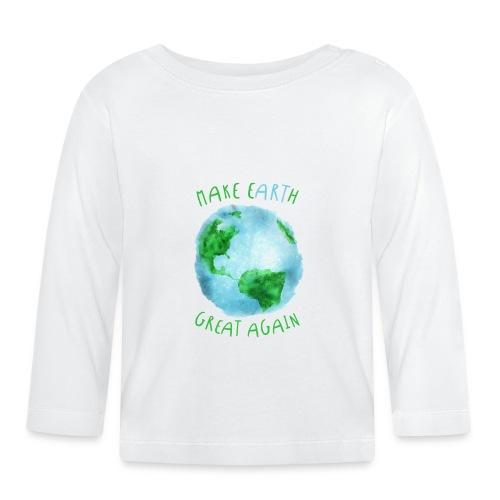 EARTH - Camiseta manga larga bebé