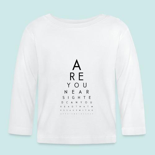 Eyechart - T-shirt manches longues Bébé