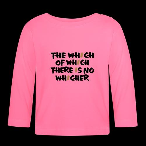 whichwhichwhich - Baby Langarmshirt