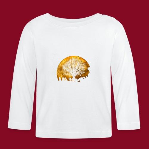 The Moon - Maglietta a manica lunga per bambini