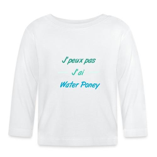 Water Poney - T-shirt manches longues Bébé