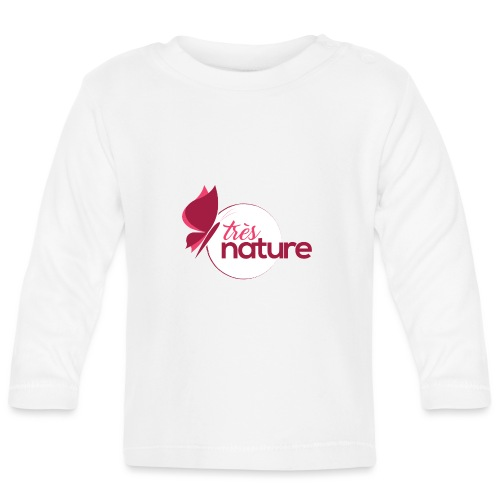 rond_rose_pap_sweet - T-shirt manches longues Bébé