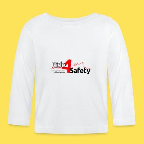 Ride4Safety - Maglietta a manica lunga per bambini