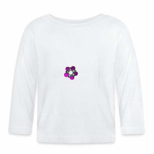 Flowerpower - Långärmad T-shirt baby