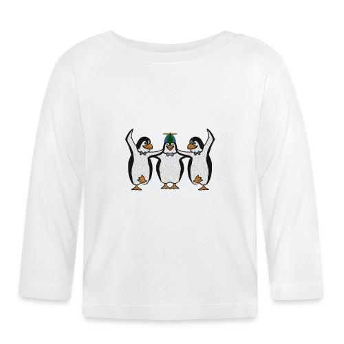 Penguin Trio - Baby Long Sleeve T-Shirt