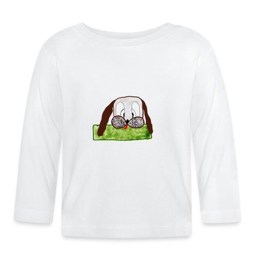Mein Name ist Wuff - Baby Langarmshirt