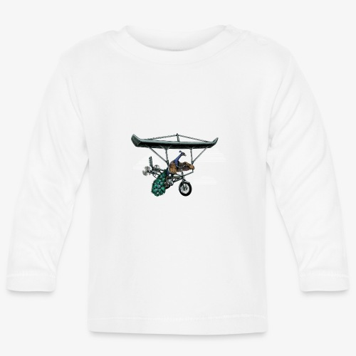 Flight of the Peacock - Baby Long Sleeve T-Shirt