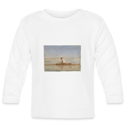 John Biglin in a Single Scull - Thomas Eakins - T-shirt manches longues Bébé
