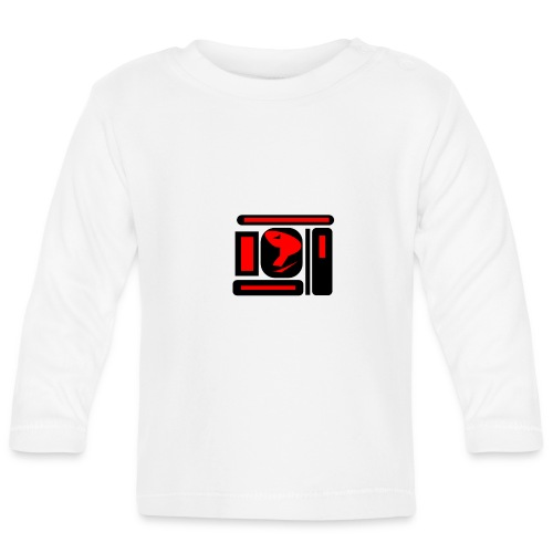 black and red hot P - Baby Langarmshirt