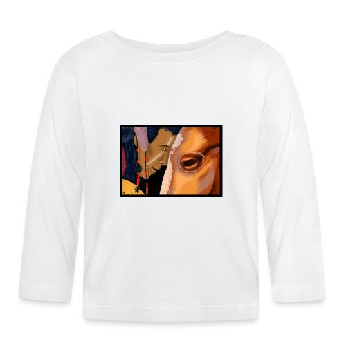 Man and Horse - T-shirt