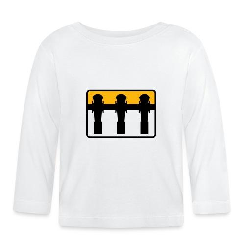 Kickerspieler - Kickershirt - Baby Langarmshirt