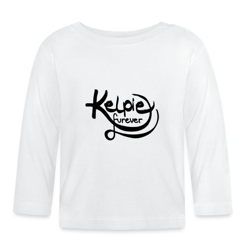 Kelpie furever - Baby Langarmshirt