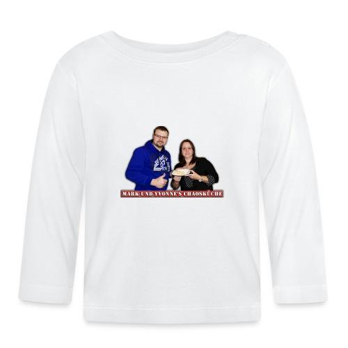 Mark und Yvonne Chaoskueche Logo - Baby Langarmshirt