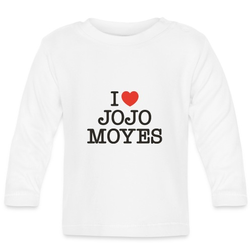 I LOVE JOJO MOYES - Langærmet babyshirt