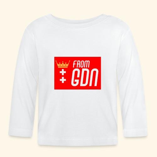 #fromGDN - Koszulka niemowlęca z długim rękawem