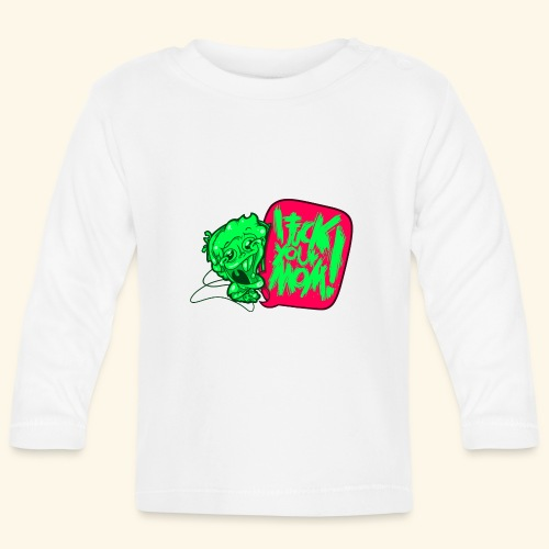IF @ # * K YOUR MOM! - Baby Long Sleeve T-Shirt