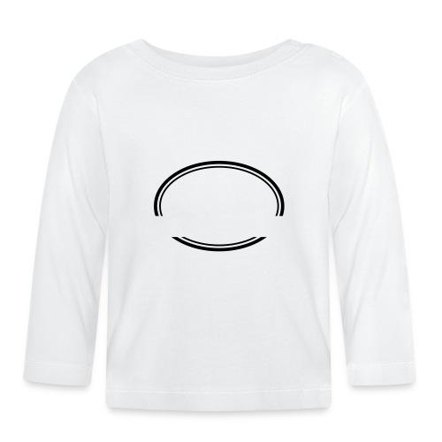 Kreis offen - Baby Langarmshirt