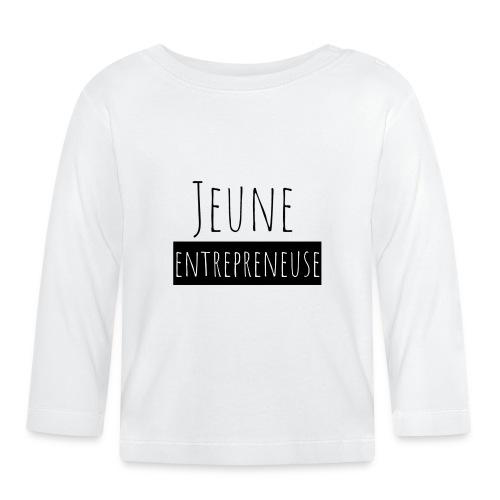 Jeune Entrepreneuse - T-shirt manches longues Bébé