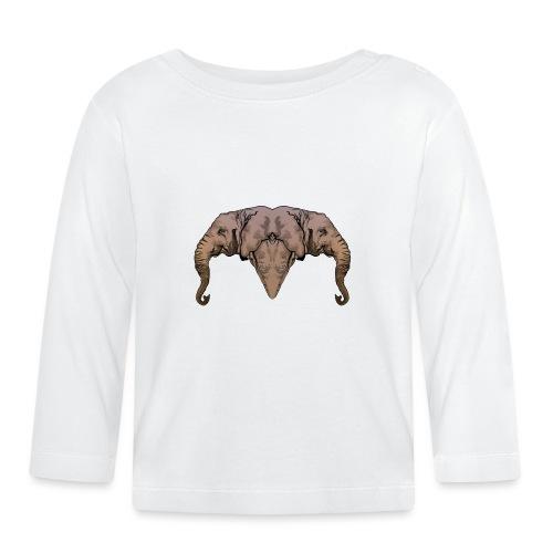 Elephants - T-shirt manches longues Bébé