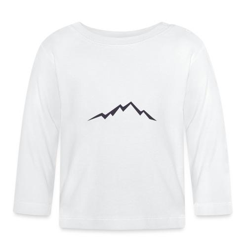swiss alps clipart sihllouette ski mountains - T-shirt
