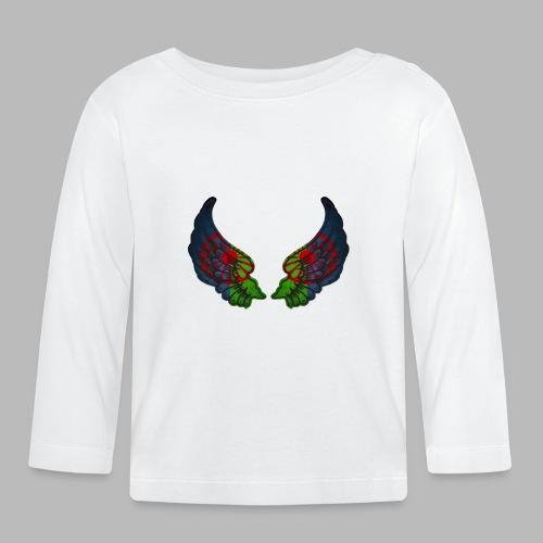 wingsLennyLindellcopyrightNobakgrund - Långärmad T-shirt baby