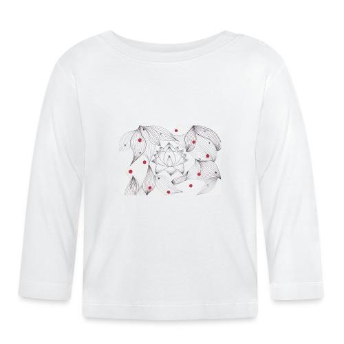 Lotus Dots - Maglietta a manica lunga per bambini