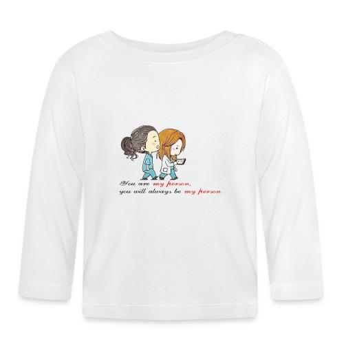 you are my person - Maglietta a manica lunga per bambini