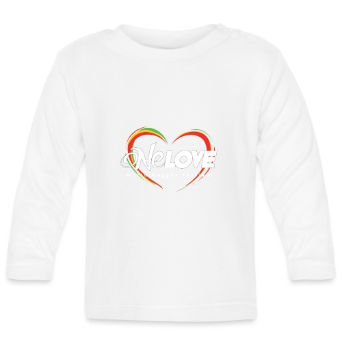 LOGO 2016 DEF BIANCO PNG - Maglietta a manica lunga per bambini