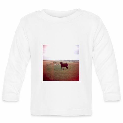 Original Artist design * Black Sheep - Baby Long Sleeve T-Shirt