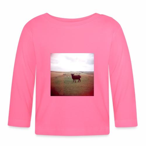 Original Artist design * Black Sheep - Baby Long Sleeve T-Shirt