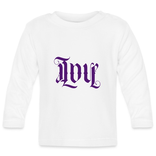 Love and hate - Baby Long Sleeve T-Shirt