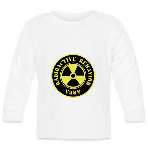 Radioactive Behavior - Camiseta manga larga bebé