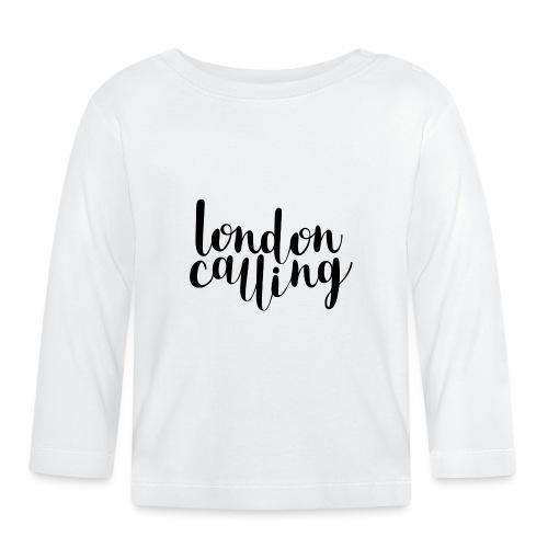 London Calling - Baby Langarmshirt