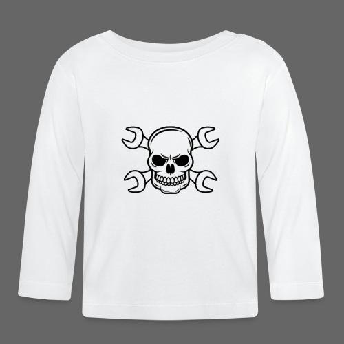 MEKKER SKULL - Langærmet babyshirt