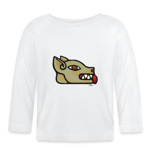 Aztec Icon Dog - Baby Long Sleeve T-Shirt