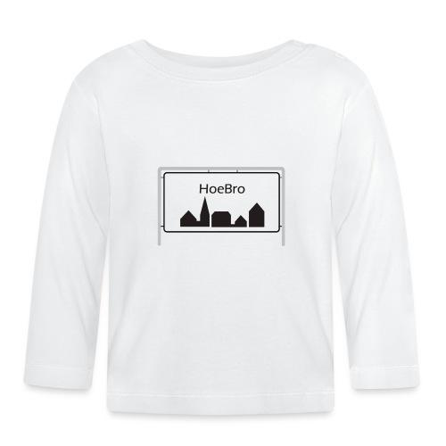 Hoebro - Langærmet babyshirt