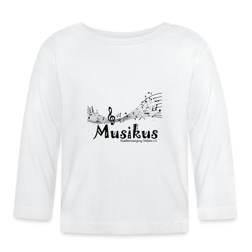 Musikus Noten - Baby Langarmshirt