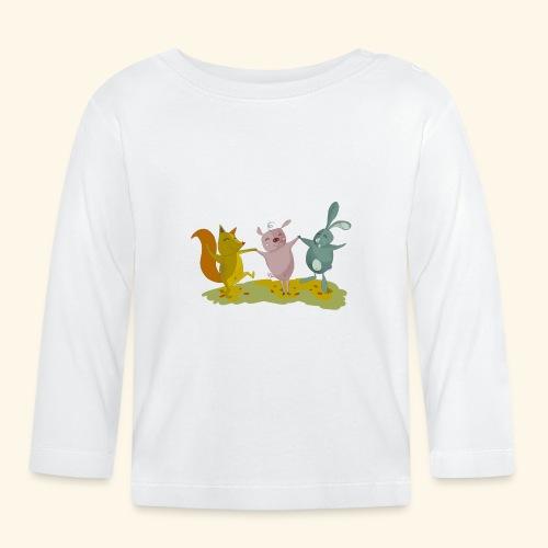 happy friends - Baby Long Sleeve T-Shirt