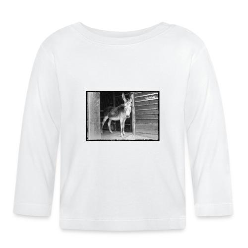 Zickenstube Esel - Baby Langarmshirt