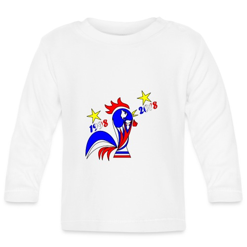coupe du monde football 2018 mondial France 2018 - T-shirt manches longues Bébé