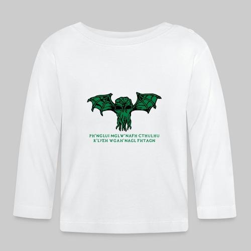 Cthulhu Wings Fhtagn - Baby Langarmshirt