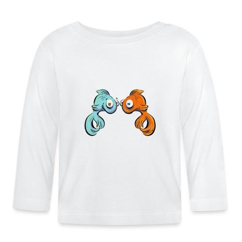 Fische - Baby Langarmshirt