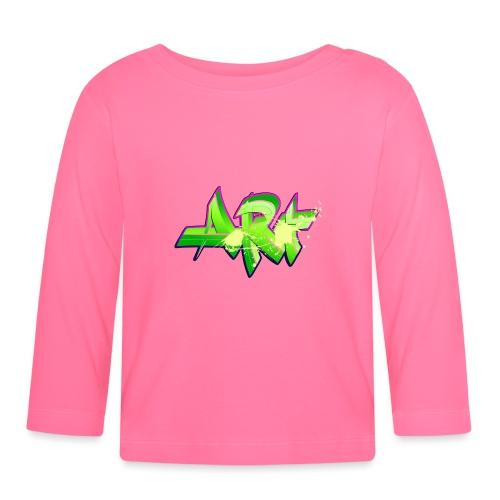 old school hip hop breakdance 17 - Långärmad T-shirt baby