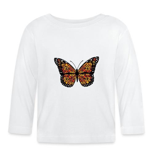 Papillon - T-shirt manches longues Bébé