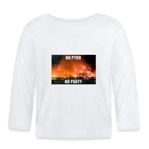 #NoPyroNoParty - Långärmad T-shirt baby